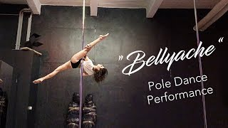 """""""Bellyache"""" - Pole dance choreography & performance at a pole show"""