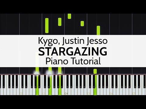 """Stargazing"" - Kygo, Justin Jesso (Piano Tutorial) by Niko Kotoulas"