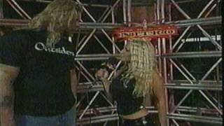 WCW Pamela Paulshock interview with Kevin Nash on Nitro 2000