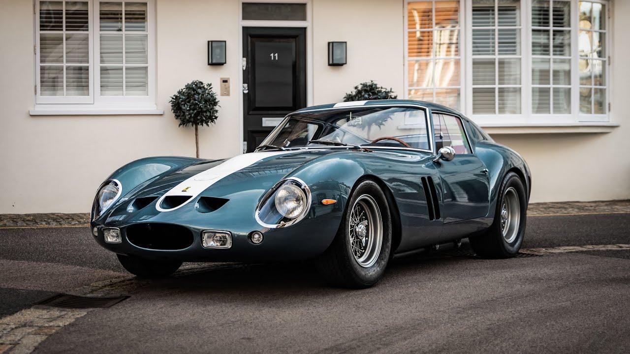 1962 Ferrari 250 Gto Incredible V12 Sounds In London Youtube