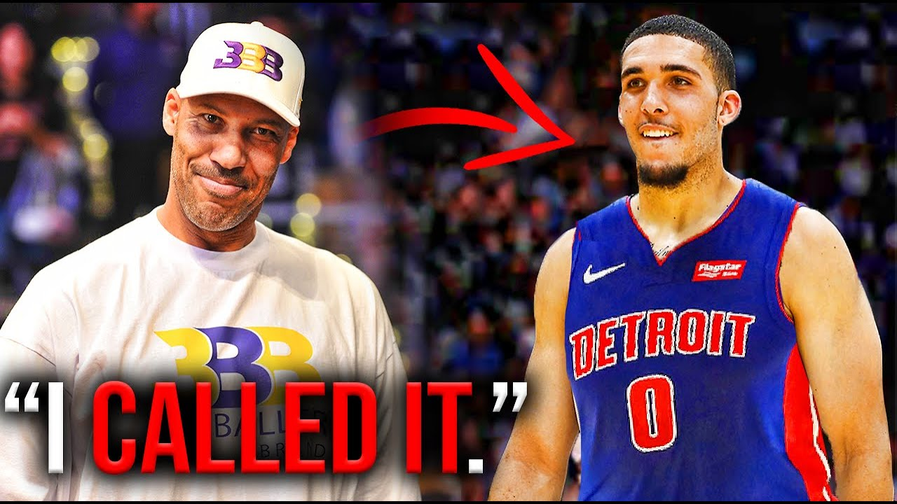 Detroit Pistons sign 'the third Ball brother': Who is LiAngelo Ball and ...