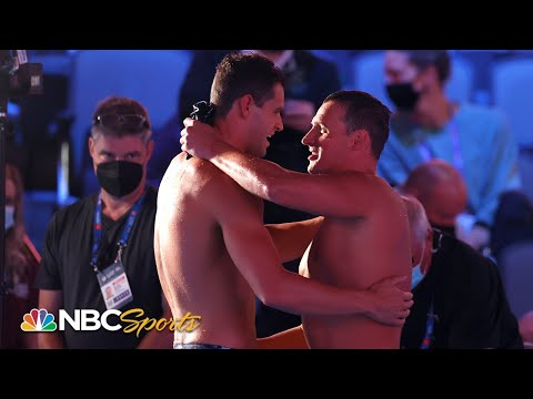 Andrew flirts with world record; Lochte misses out on Olympics in 200 IM final | NBC Sports