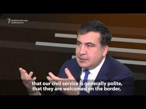 Саакашвили о режиме Путина