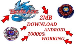 🔴How to download awesome beyblade game for android in 2 mb