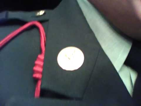 How to put you nameplate on your jrotc uniform from YouTube · Duration:  3 minutes 34 seconds