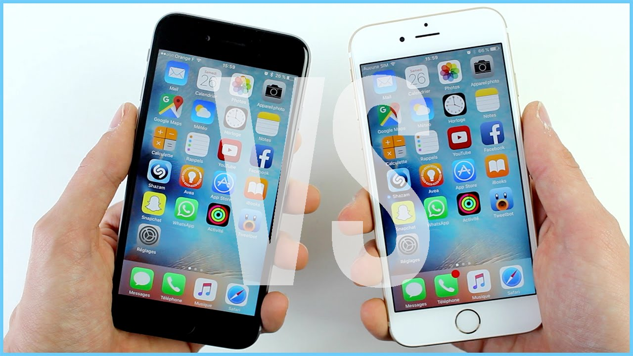 comparatif iphone 6s vs iphone 6   quelles diff u00e9rences
