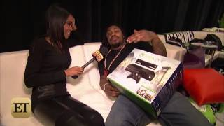 Michelle Williams Chat with Seattle Seahawks Star Marshawn Lynch