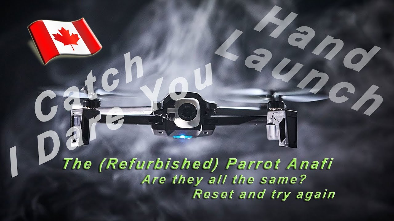 Refurbished Anafi - Hand Launch & Catch