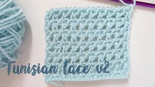 In this video I show you how to crochet a Tunisian lace stitch with a beautiful stretch. I hope you enjoy and feel inspired! Version 1 can be found here: ...