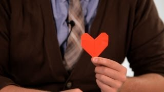 How to Make a Heart | Origami