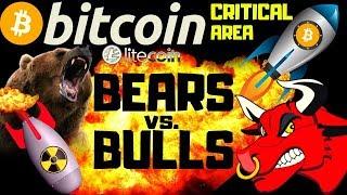🔥 BITCOIN CRITICAL AREA ! 🔥bitcoin litecoin price prediction, analysis, news, trading