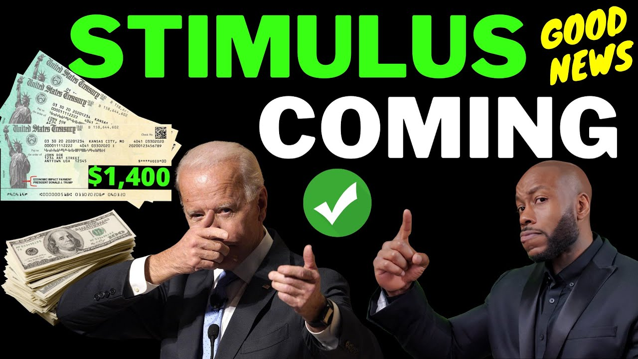 WOW!!  $2,000 + $1400 Third Stimulus Check Update  [JOE BIDEN HUGE INCREASE]