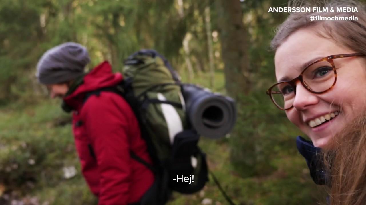 #bakomkameran - inspelning av film om skogsbad