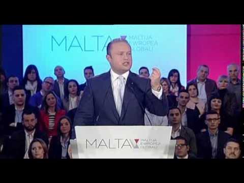 Joseph Muscat PL KĠA 2014 Għeluq
