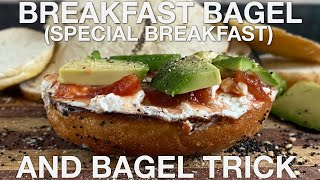 Special Breakfast and Bagel Trick  You Suck at Cooking (episode 99)