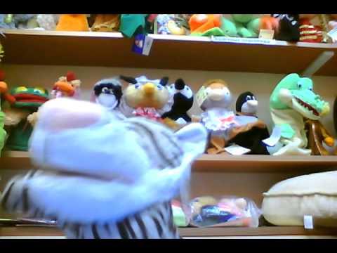 Cмотреть онлайн тигра кукольный театр (игрушки-петрушки).avi