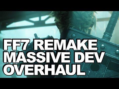 Huge Final Fantasy 7 Remake Update: Massive Development Overhaul Takes Place