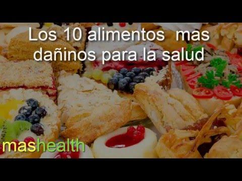 los 10 alimentos mas perjudiciales para la salud