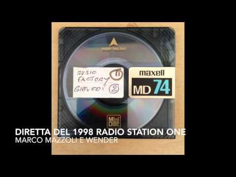 Radio Station One - Music Factory del 1998 con Marco Mazzoli e Wender