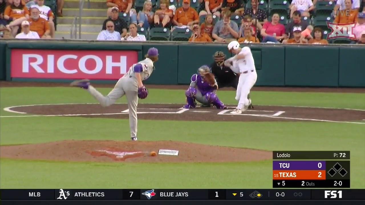tcu-vs-texas-baseball-highlights-may-17