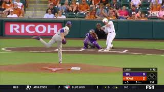 TCU vs Texas Baseball Highlights - May 17