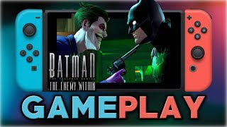 Batman: The Enemy Within | First 25 Minutes | Nintendo Switch