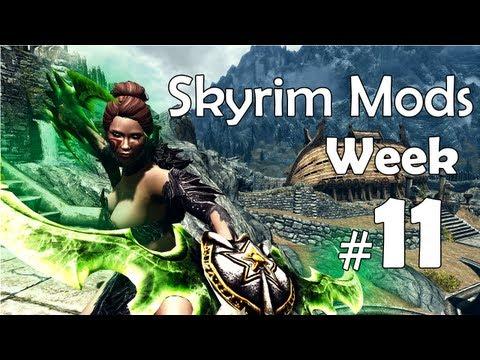 Skyrim Mods - Week #11: Dragon Bone Weapons, Faster Horses, Map Markers, Pines Of Whiterun