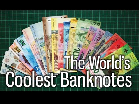 The World's Coolest Banknotes