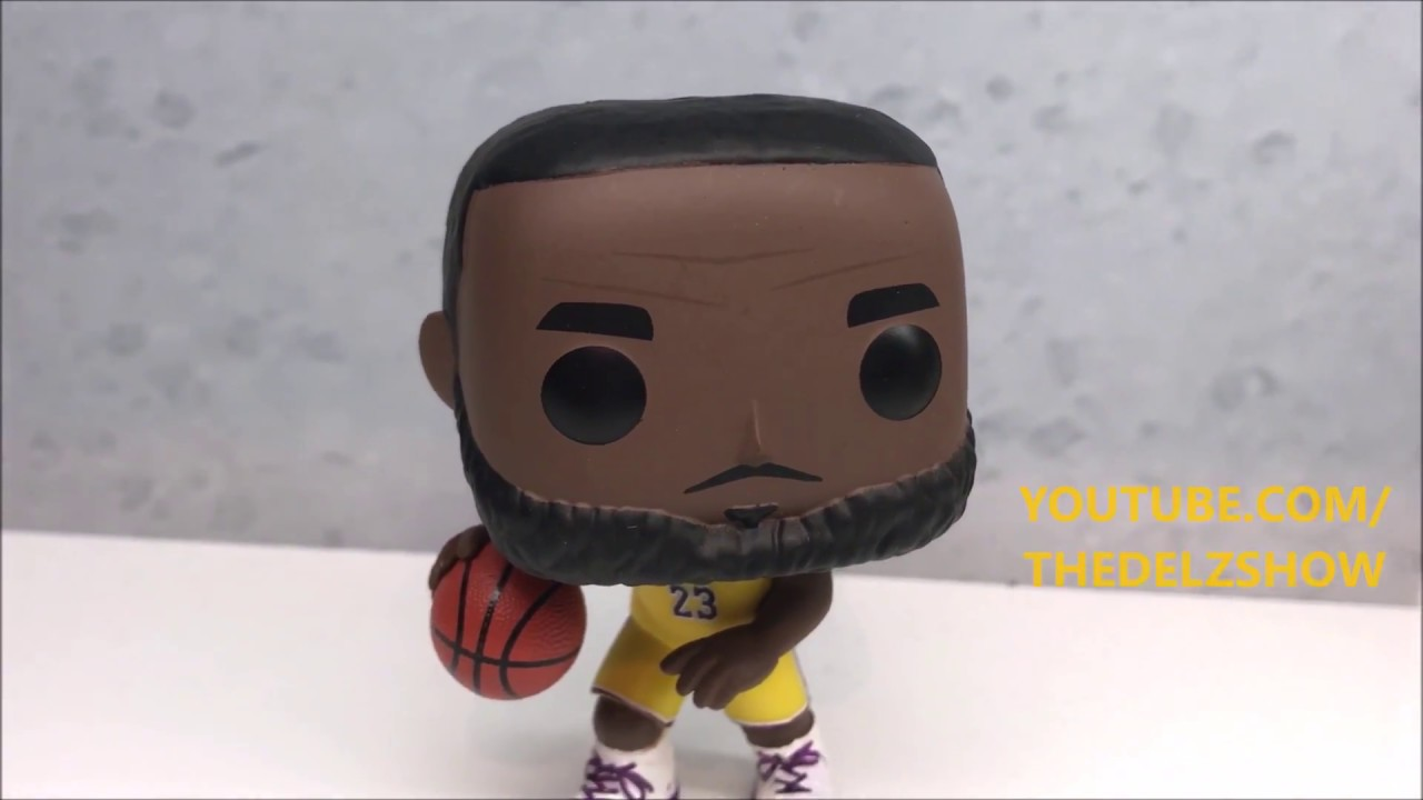 d780c78f358f LEBRON JAMES FUNKO POP L.A LAKERS FOOTLOCKER EXCLUSIVE DETAILED LOOK ...
