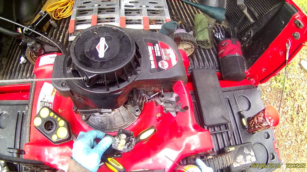 Mtd 140 Cc Carburetor Diagram Lawn Mower Adjustment 4p90hu Assembly And Parts List Partstreecom Briggs Stratton 500 Series Cleaning Part 1 Youtube Yard Man