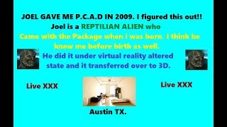 Reptilian Alien Gave me P. C. A. D /1 Week  by Way of Highly Sexual OBE/Virtual Reality.