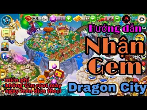cách hack kim cương trong dragon city tren dien thoai - [Dragon City] Hướng dẫn nhận gem dragon city trên điện thoại | không cần root máy!!