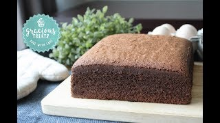 Soft Chocolate Sponge Cake