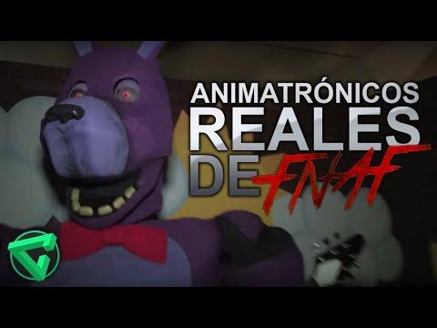 ANIMATRÓNICOS REALES DE FIVE NIGHTS AT FREDDY'S - (Vídeo Reacción) FNAF | iTownGamePlay