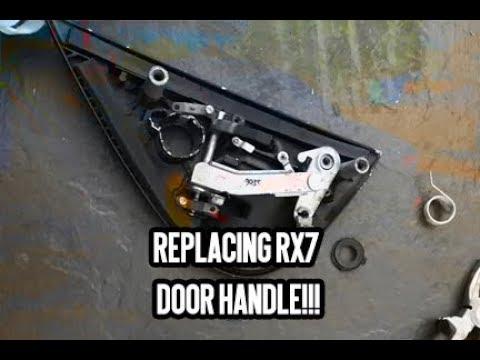 Replacing Rx7 Door Handle Youtube