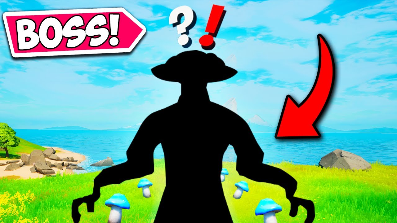 *NEW* MYTHIC BOSS FOUND ON MOBILE!! - Fortnite Funny Fails and WTF Moments! #1073