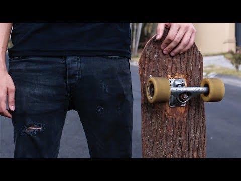 Tree on wheels | DIY skateboard
