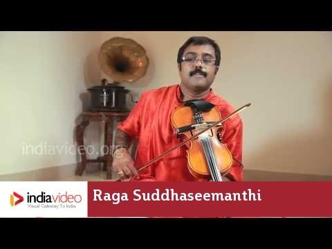 Raga Series - Raga Suddhaseemanthi on Violin by Jayadevan