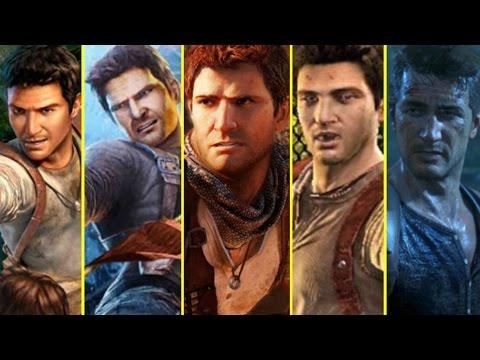 All Uncharted Games E3 Trailers vs Retail Graphics Comparison