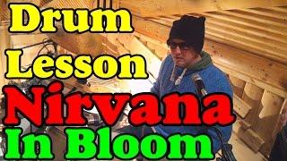 Барабаны Nirvana - In Bloom Drum Lesson | Партия ударных Нирвана | Уроки игры на барабанах Тольятти