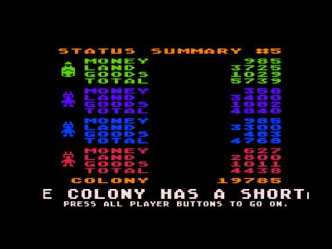 M.U.L.E. (2/2) Atari 800 / Commodore 64