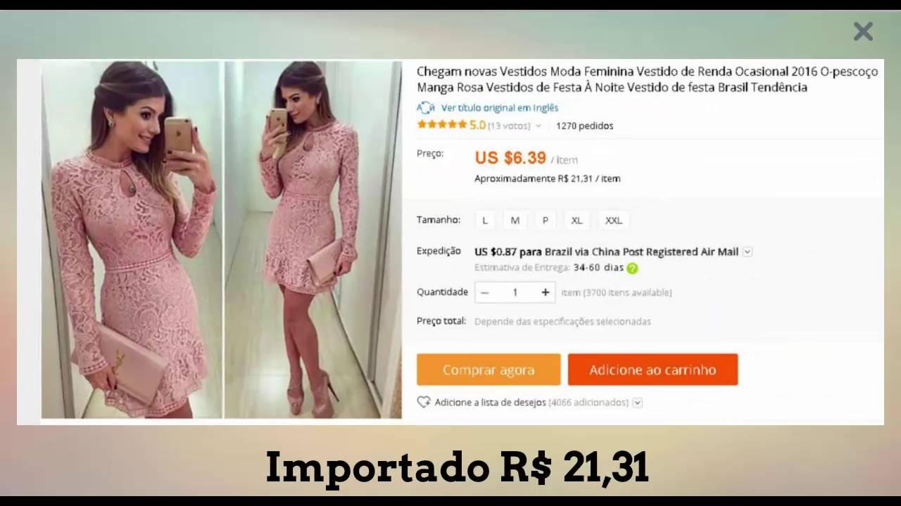 vestidos no atacado - comprar roupas baratas - revender roupas femininas -  YouTube b8ff3197b1488