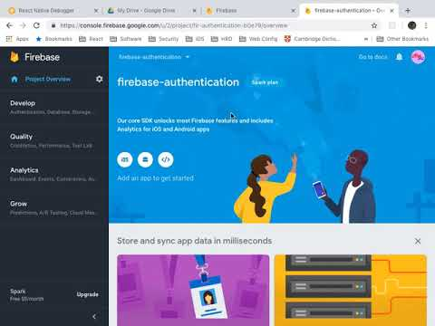 Repeat React Native Firebase Auth - Email and Password by Channat