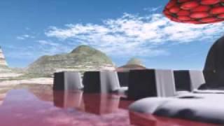 Red UFO in Porquerolles