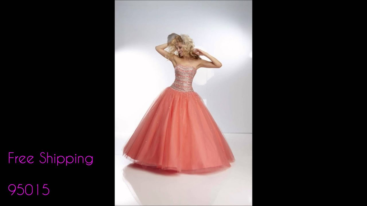 Paparazzi by Mori Lee Prom Dresses 2014 - YouTube