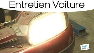 Comment remplacer l'ampoule de phare brulée