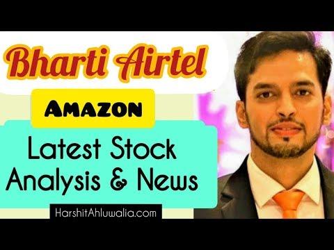 Bharti Airtel Amazon share latest news and analysis