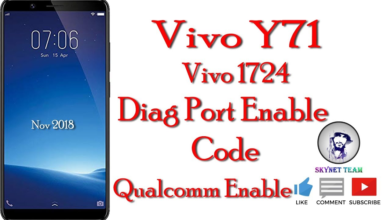 Vivo Y71 Diag Port Enable Code Solution
