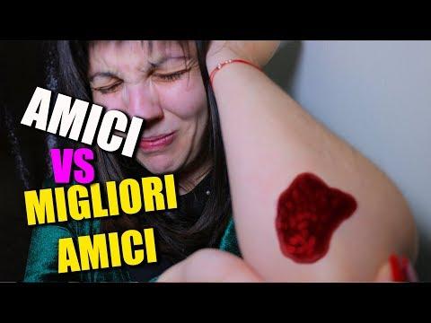 AMICI vs MIGLIORI AMICI - Le Differenze || Paolo po & Malvina Mirrati