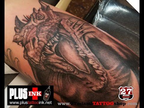 Dragon Tattoo LIVE!!!!